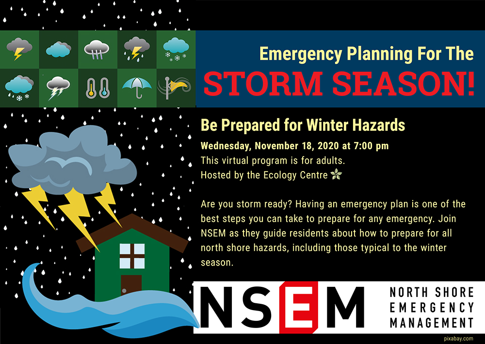 Emergency Planning for Storm Season